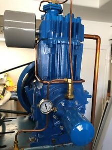 Quincy Qr 325 Air Compressor Pump Two Stage 5hp