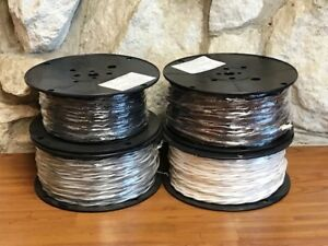 16awg Str Bc 2 cond 030 Perimeter Wire Black black 390ft made In Usa