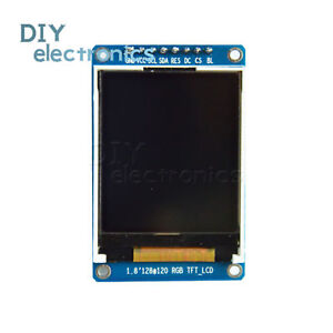 1 8 Inch 128x160 Spi Full Color Tft Lcd Display Module Replace Oled Us