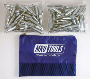 200 3 32 Cleco Sheet Metal Fasteners W Mesh Carry Bag k2s200 3 32