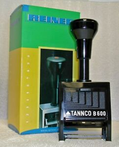Tannco B600 Automatic Numbering Machine Stamp Made In Germany