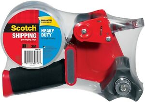 Scotch Heavy Duty Shipping And Packaging Tape Dispenser 1 88 In X 60 Yd Per