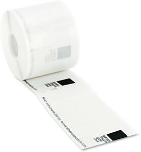 Seiko Self adhesive Wide Shipping Labels 2 1 8 X 4 Clear 220 box
