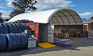20x40x6 5 Overseas Shipping Container Shelter Canopy Tent Carport Building Cover