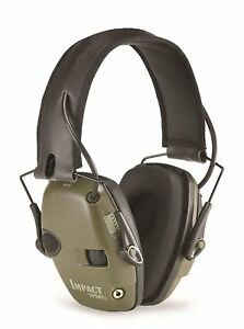 Howard Light Impact Sport Electronic Earmuff For Shooting Ear Protection Sleek