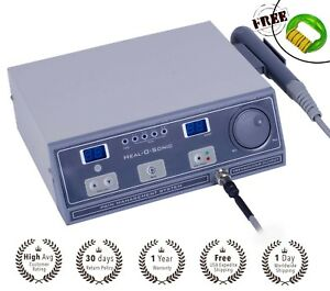 Ultrasound Therapy Equipment Personal Use Pain Relief 1mhz With Program N3 Hos