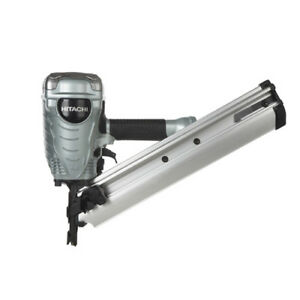 Hitachi Nr90adpr 3 1 2 Paper Collated Clipped Head Pneumatic Strip Nailer