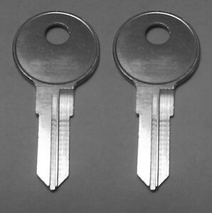 2 Bauer Leer Truck Camper Cap Replacement Keys Cut To Key Code Sl001 Sl025