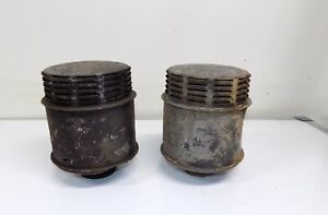 1950 S 1960 S Rat Rod Vintage Louvered Air Cleaner 2 1 3 Id 7 1 4 Tall 6 W