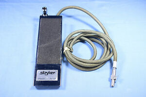 Stryker Surgical Foot Pedal Endoscopy With Warranty