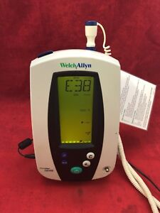 Welch Allyn Vital Signs Patient Monitor 420 Series W probe Type 3 See Desc