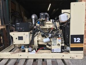 Kohler Generator 9 Kw Natural Gas Single Phase Ford Industrial Motor 604 1 Hour