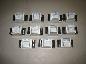 Lot Of 11 Jensen Transformers Iso max Din 2lo 11fl 2 Channel Output Transfomer