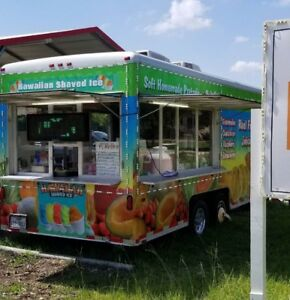 Food Concession Trailer For Sale