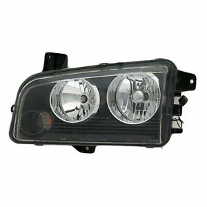For Dodge Charger 2005 2006 2007 2008 2009 2010 Headlight W halogen Left Driver