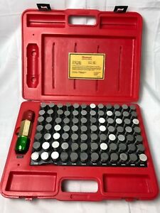 Starrett 84 Pc Pin Gage Set S4012 916 833 916