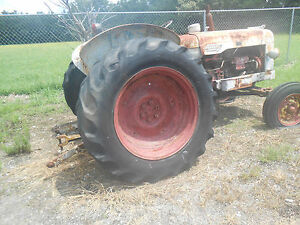 Fordson Power Major Tractor To Restore Or Parts Last Running 8 Years Ago Used