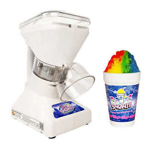 Snowie Little Snowie 2 Premium Shaved Ice Machine Snow Cone Machine 5 Flavors
