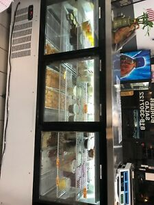Refrigerated Deli Display Case used 3 Months Old 5 Yers Compressors Waranty