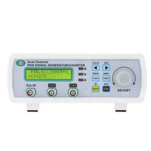 25mhz Digital 2 Channel Signal Generator Arbitrary Waveform Frequency Meter C0i2