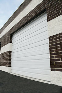 Duro Steel Amarr 2402 Series 16 Wide By 12 tall Commercial Overhead Garage Door