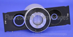 Zeiss Microscope Condenser With Phase Annulus Slider For Im Series