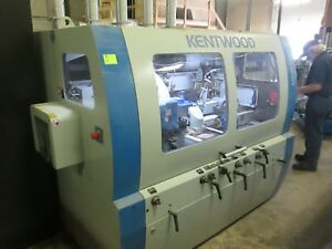 Kentwood 5 Head Moulder 9 Capacity M509s 2013 Excellent