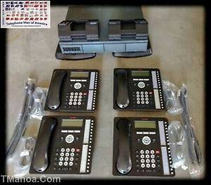 Avaya Ip Office 500v2 Business Phone System 4 Lines 8 Phones W 4 1416 Phones
