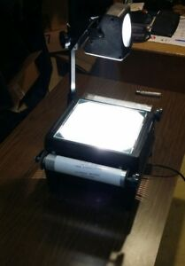 Da lite G 200 Overhead Transparency Projector Tested W New Transparency Film