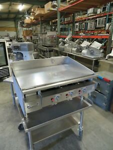 Keating 36 Miraclean Gas Grill Griddle 36 X 24 Thermostatic Plate Free Shipping