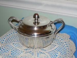 Vintage Reed And Barton Silver Soldered Lidded 3610
