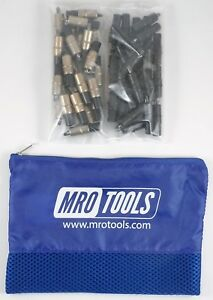 25 3 16 25 3 32 Extra Short Cleco Fasteners W Mesh Carry Bag kk3s50 5
