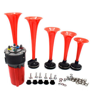 5 Pieces New Musical Air Horn Dukes Of Hazzard General Lee 125db Auto Truck Boat