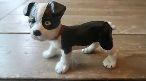 Boston Terrier Bull Dog Pup Puppy Solid Cast Iron Doorstop Statue Paperweight