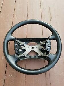 1998 2001 Dodge Ram 1500 2500 3500 Black Steering Wheel 98 99 00 01 Oem