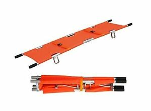 Line2design Medical Emergency Aluminum Alloy Folding Portable Stretcher With