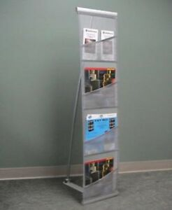 Orbus Reveal Pro 1 Literature Stand For Brochures Brand New 20 In Stock