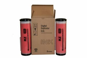 2 Wholesale Widgets Brand Compatible Inks Riso Compatible Red Universal Ink
