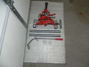 Ridgid 311 Carriage Complete With 341 Reamer 360 Cutter Rigid Die Head For 300