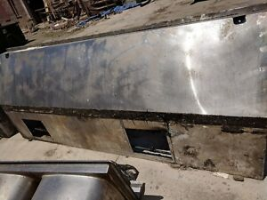 10 By 4 Foot Restaurant Exhaust Hood Used Metal