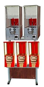 Eagle Emc3002l Gumball Bulk Capsule Toy Vending Machine new One Year Warranty