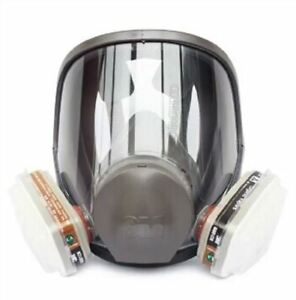 Respirator Supplied Fresh Air Fed Full Face Mask Kit New For Paint Spray Gas Kk