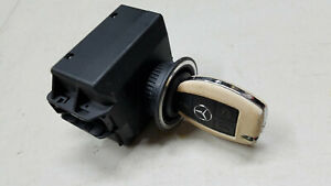 2012 Mercedes Benz Cls550 W218 Ignition Switch Module W Smart Key Set Oem