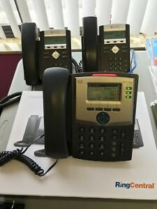 Cisco Polycom Voip Desktop Phones Lot Of 3 Will Also Sell Separately