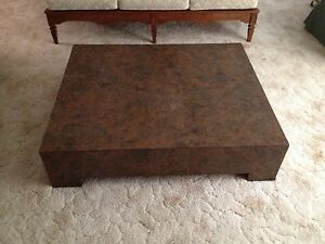 Retro Contemporary Mcm Low Platform Or Coffee Table 40 X48