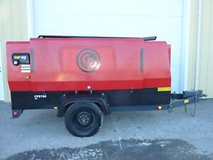 2012 Chicago Pneumatic Cps750 Diesel Air Compressor 750 Cfm 125psi 1125 Hours