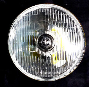 7 Led Upgrade 2 X Classic Glass Steel Lucas Style Holden Eh Hd Hr Hk Hq