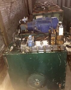 30hp Central Hydraulic Pump System For Hydraulic Molding Platen Presses