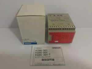 New Omron Safety Relay Unit G9s 501 G9s501 24vdc