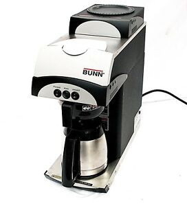 Bunn 392 Pour Over 2 Warmer Coffee Maker Brewer 1560 Watt Pn 37800 0105